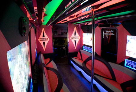 michigan party bus